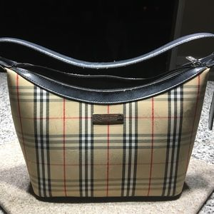 Authentic Burberry London Plaid Satchel